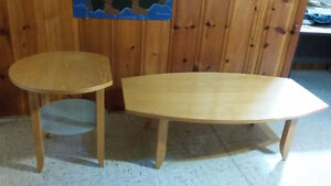 Coffee table and End Table, Tables de salon