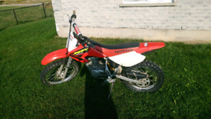 Honda xr100r. was $1650 reduced to $1500