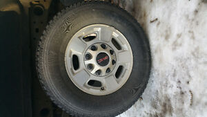 OEM GMC 2500 Tires and Rims