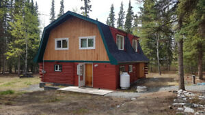 Log style house for sale