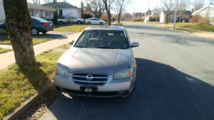 **Updated, car is fixed**2002 nissan maxima mvi until July 2019