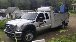 Fully equipped service truck complete with inventory and tools