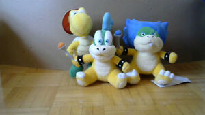 Super Mario Bros Plushies