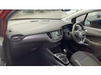 2021 Vauxhall CROSSLAND 1.2 SE (s/s) 5dr SUV Petrol Manual