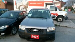 2007 Ford Escape suv 4x4 safety and e-test+3 MONTH WARRANTY * in