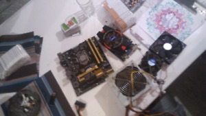 Video card mother board power supply and i5 chip set and ram