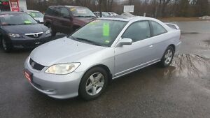 2005 Honda Civic FULLY LOADED Coupe *** CERTIFIED *** $3995