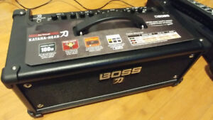 Boss Katana Head 100W (better than Roland Cube!)