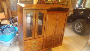 TV / Entertainment Center / Cabinet For Sale ONLY $40 REDUCED