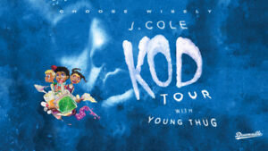 AMAZING J. Cole Tickets @ Air Canada Centre Section 109 Row 6