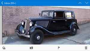 Wanted 1930s car
