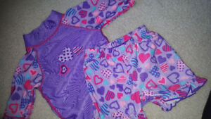 Size 2t UV protective bathing suit