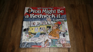 You Might Be a Redneck if board game, new sealed
