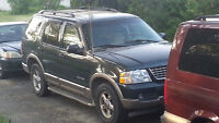 ► 2002 Ford Explorer Eddie Bauer SUV (Comes with Valid E-Test )