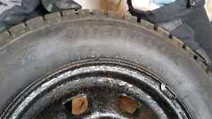 4 winter tires only used once  West Island Greater Montréal image 3