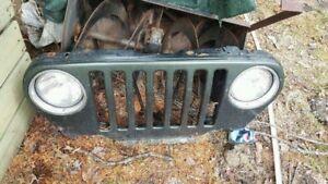 Grille et lumière de Jeep TJ 5145723493