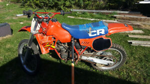 1983 Honda CR 125 Parts Bike