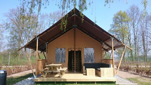 Glamping lodge, safari tent, BLACK FRIDAY SALE