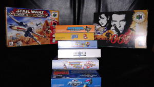 GBA and N64 boxes. No games