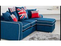 Corner couch/sofa, 3seater