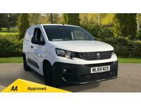 2019 Peugeot Partner PROFESSIONAL L1 B Panel Van Manual