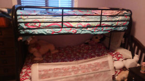 Bunk bed single over double