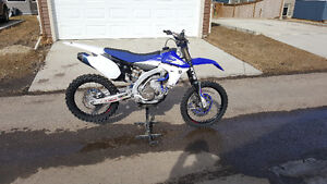 Perfect condition YZ450F