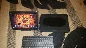 Samsung tab 4 10.1 with bluetooth keyboard and surviver case
