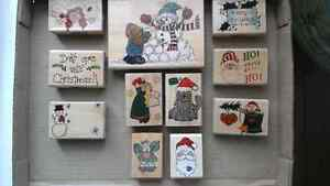 Christmas  stamps for scrap-booking, cards or gift tags
