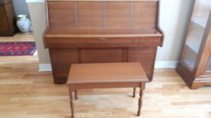 NEW PRICE: Gunther Upright Piano - Made in the UK Includes bench