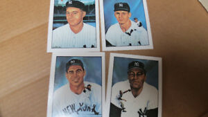 1983 50 Years of Yankee all stars cards(4)