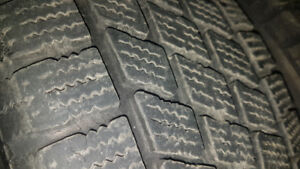 175 65 14 4x100 winter tires 80 to 90 percent on tires