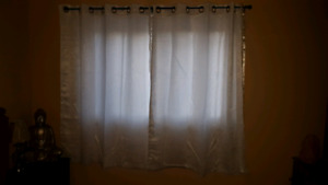 Two panel drapes
