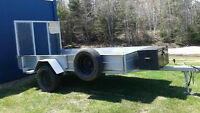 5 x 10 Utility Trailer - Single axel
