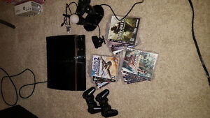 PS3, Playstation Move, 12 games, 2 consoles