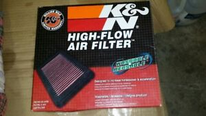 New K&N Air Filter