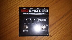 Radial Big Shot ABY Pedal - $75
