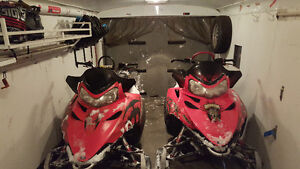3 Sleds! 2010/2008 Dragon's, 2002 edge and trailer up for grabs