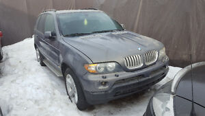 2006 BMW X5 - 4.4i.... Parting out, All Parts Available!!