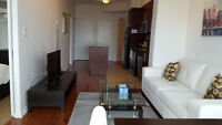 March 11: Downtown Furnished 1 Bedroom + Enclosed Den @ Union