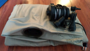 Air Mattress with electric pump inflator
