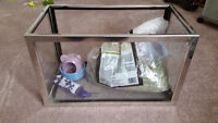 Rodent Tank and Accessories