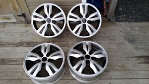 Set of 16 Inch Alloy Rims to Fit Most Vehicles