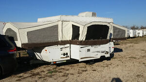 2012 Rockwood 2514G - 15ft Tent Trailer with A/C & slideout