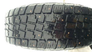 Studded winter tires 195 65 15