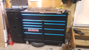 Mastercraft  toolchest with side cabinet