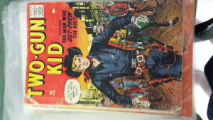 Old western early 60 collective comic books