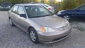 2003 Honda Civic DX Manual Etested. 190k