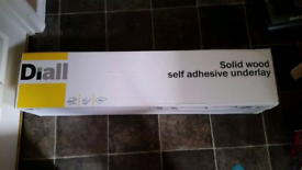 Diall Self Adhesive Solid Wood Underlay