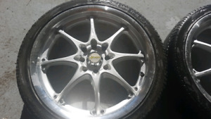 Rims with tires 17inch